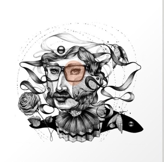 Lover art print. print - giclee - trinkl | ello