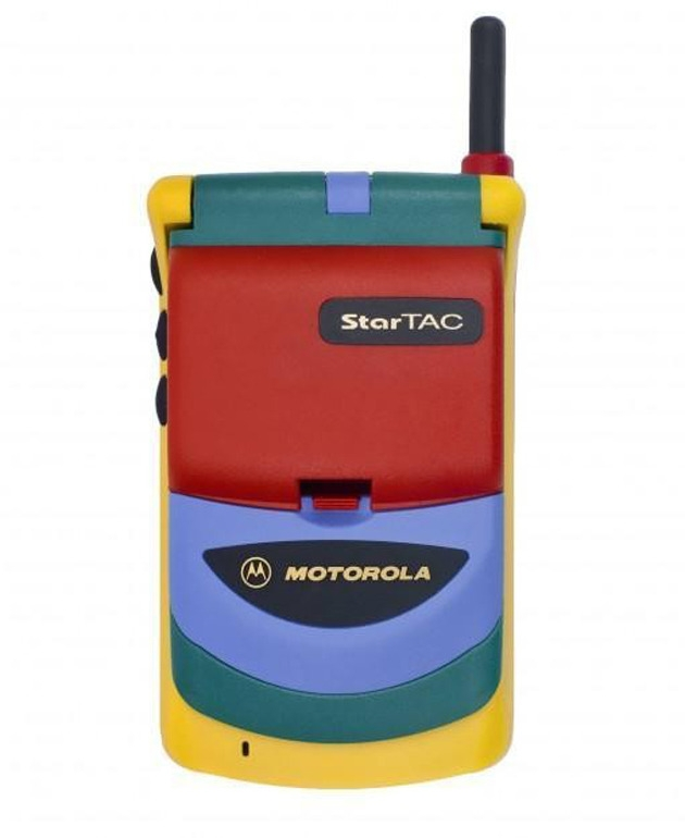 Motorola Startac Rainbow, 1996 - modernism_is_crap | ello