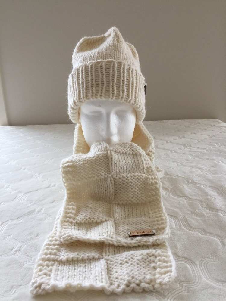 Matching set Etsy Shop - knitting - siennaknits | ello