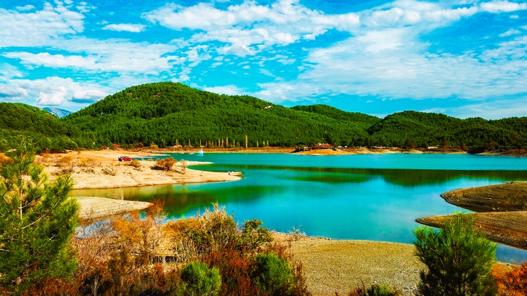 beatiful places Mugla-Ula Lake - yabanyolu | ello