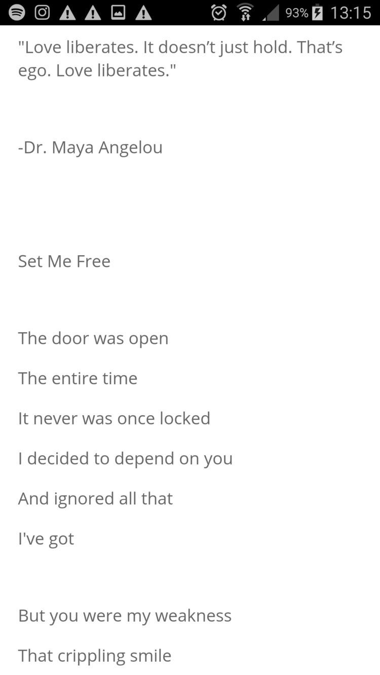 Link Poem, Set Free - poetry, poet - humanityinpoetry | ello