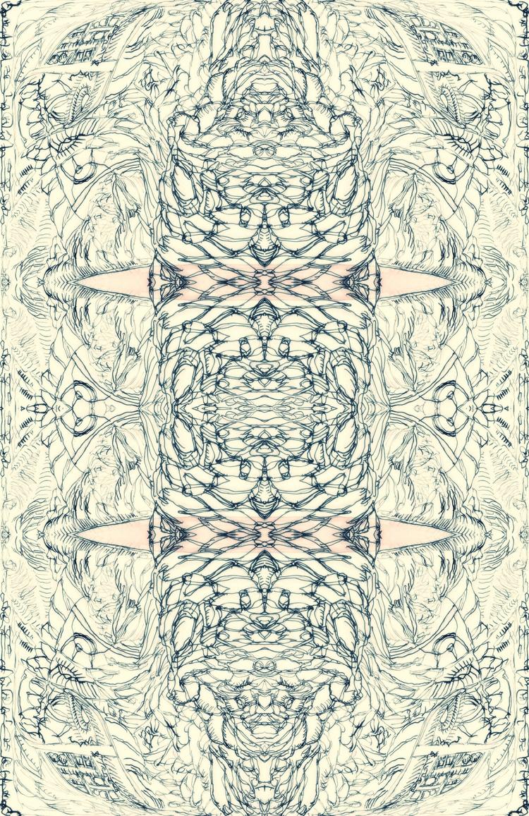 ciel - drawing, Collage, illustration - tsun-zaku | ello