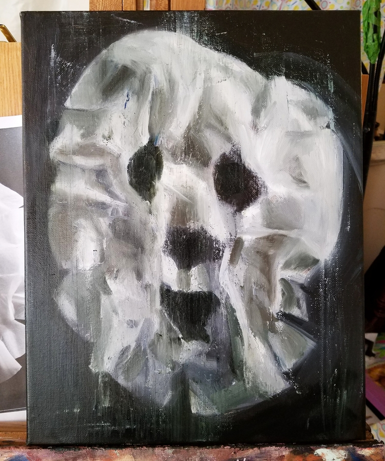 Painting masks - spoopy - megankoth | ello
