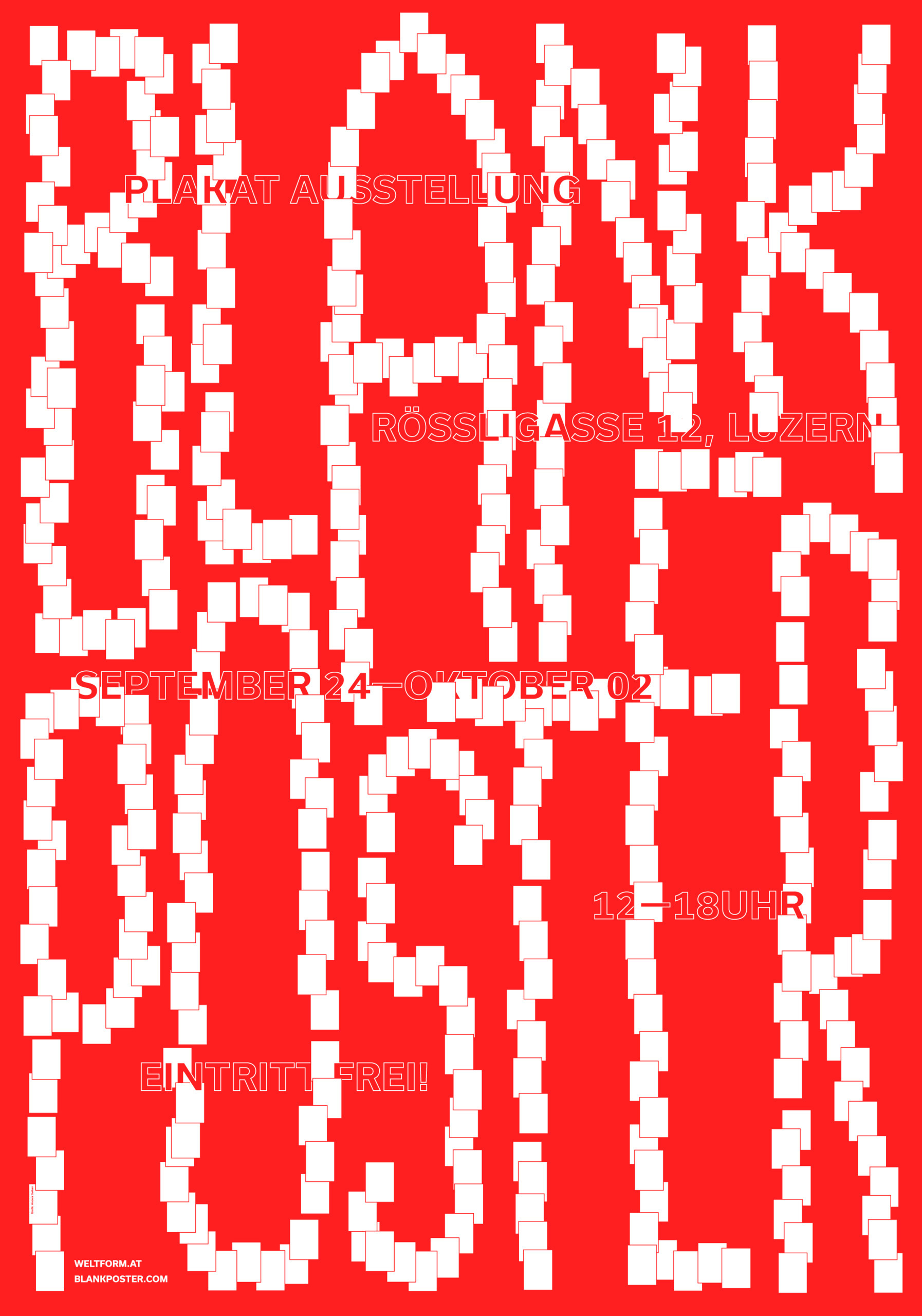 Promotional poster Blank Poster - andersbakken | ello