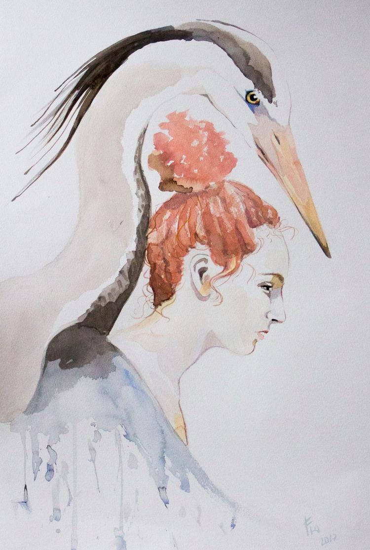 Loïse De heron - nature, portrait - flolmi | ello