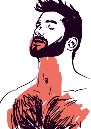 man, homoerotic, beards, beard - laceoni | ello