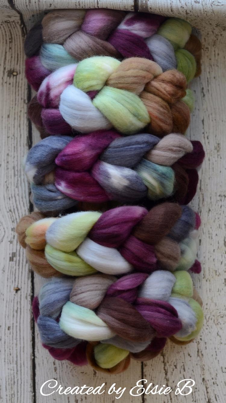 'Tea Garden' Polwarth/Silk deli - createdbyelsieb | ello