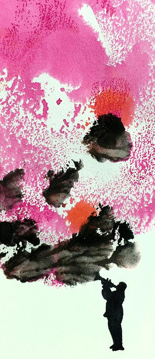 Marching day: ink paper - artwork - robert_wente | ello