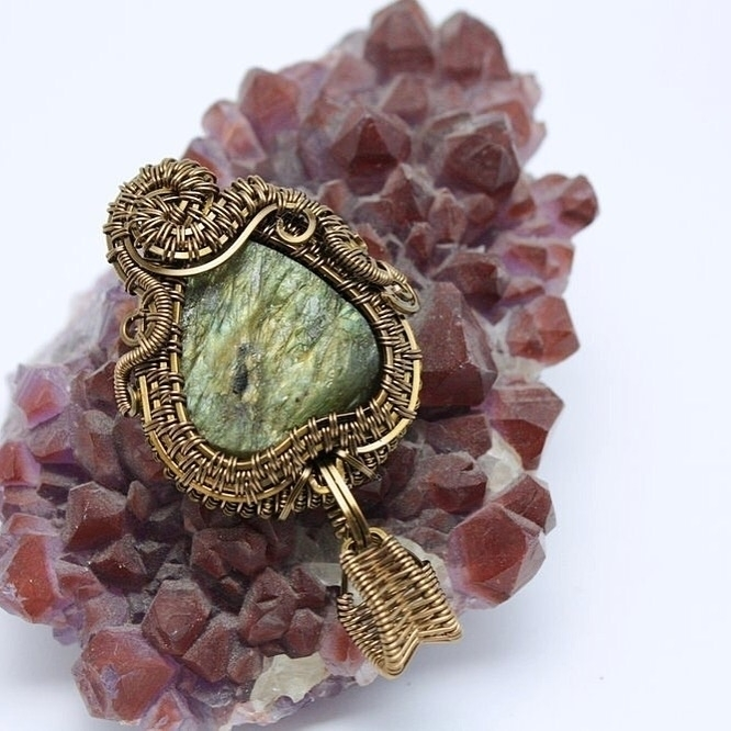 Loving rough Labradorite faves  - studioplay31 | ello