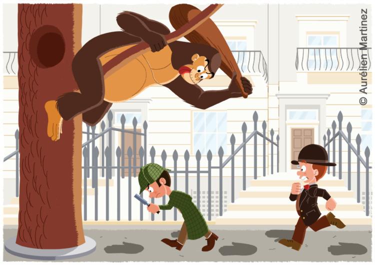 Young Sherlock Gorilla Jack - foxmurder | ello