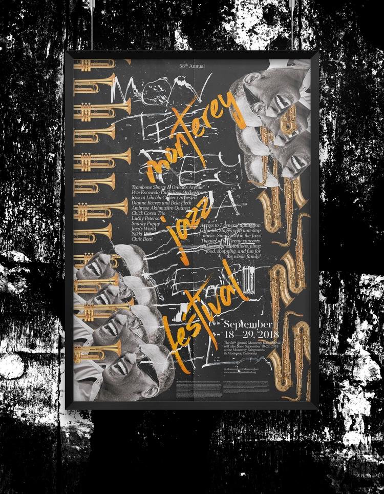 monterey jazz festival 2 - poster - beliy | ello