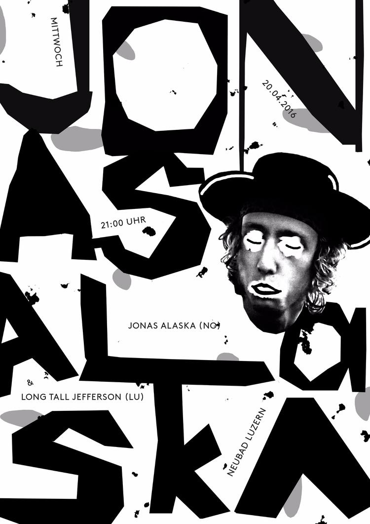 poster Norwegian musician Jonas - andersbakken | ello