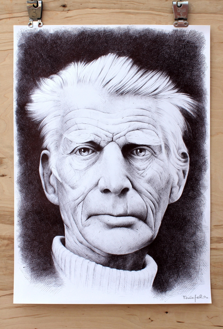 Samuel Beckett ballpoint pen pa - toniefer | ello