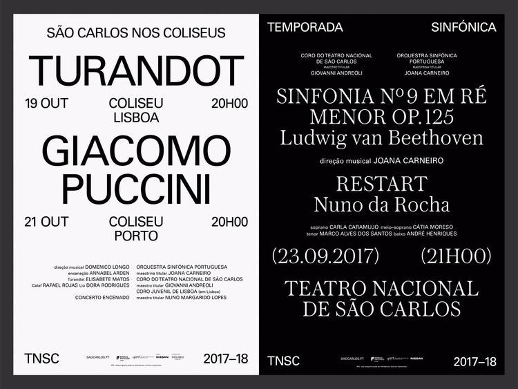 posters Teatro Nacional de São  - nonverbalclub   ello