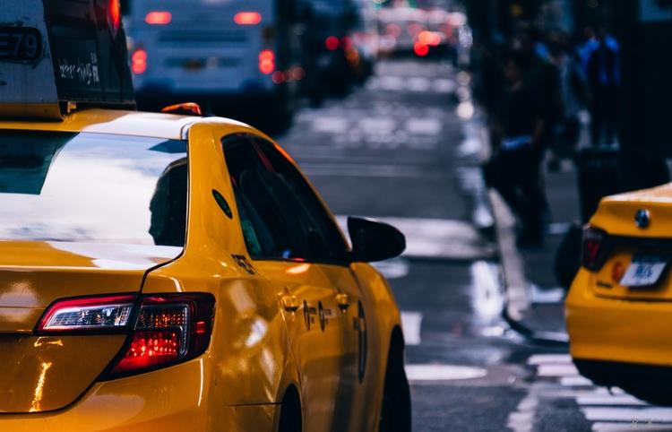Series Emerging York City Taxis - romankphoto | ello