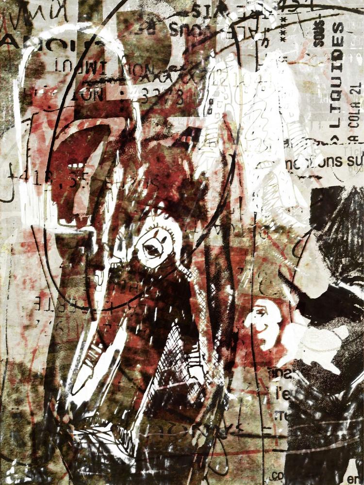Cédric Joveniaux - art, mixedmedia - particulescreatives   ello