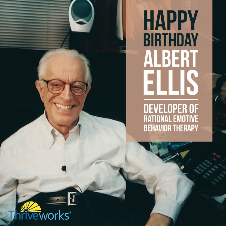 Happy Birthday, Albert Ellis - albertellis - anthonycentore | ello