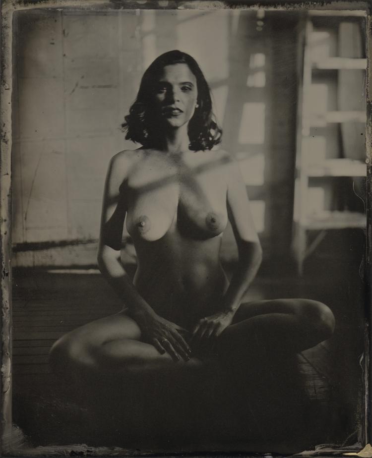 Heather. Tintype - tintype, collodion - lacunha | ello