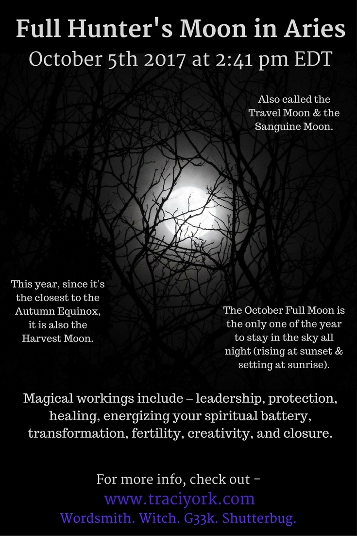Witchy Wednesday post Full Moon - traciyork | ello