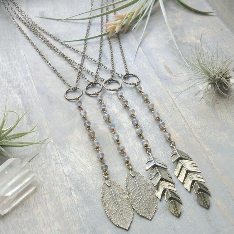 Long, Labradorite rosary neckla - emmandflow | ello