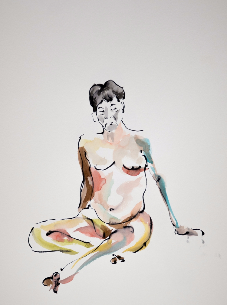 25th September - lifedrawing, figuredrawing - mickepe | ello