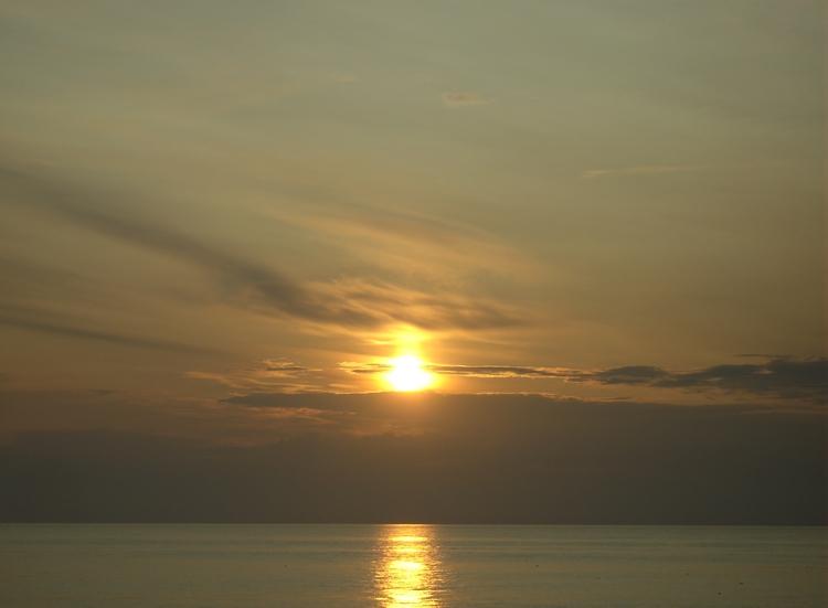 ocean, sunset - derleu | ello