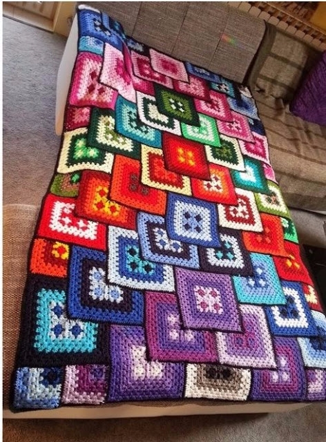 crochet blanket free tutorial - carlabreda   ello