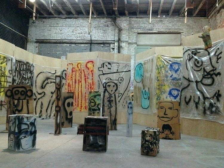 studio, sculptures, paintings - anthonycandkarenm | ello
