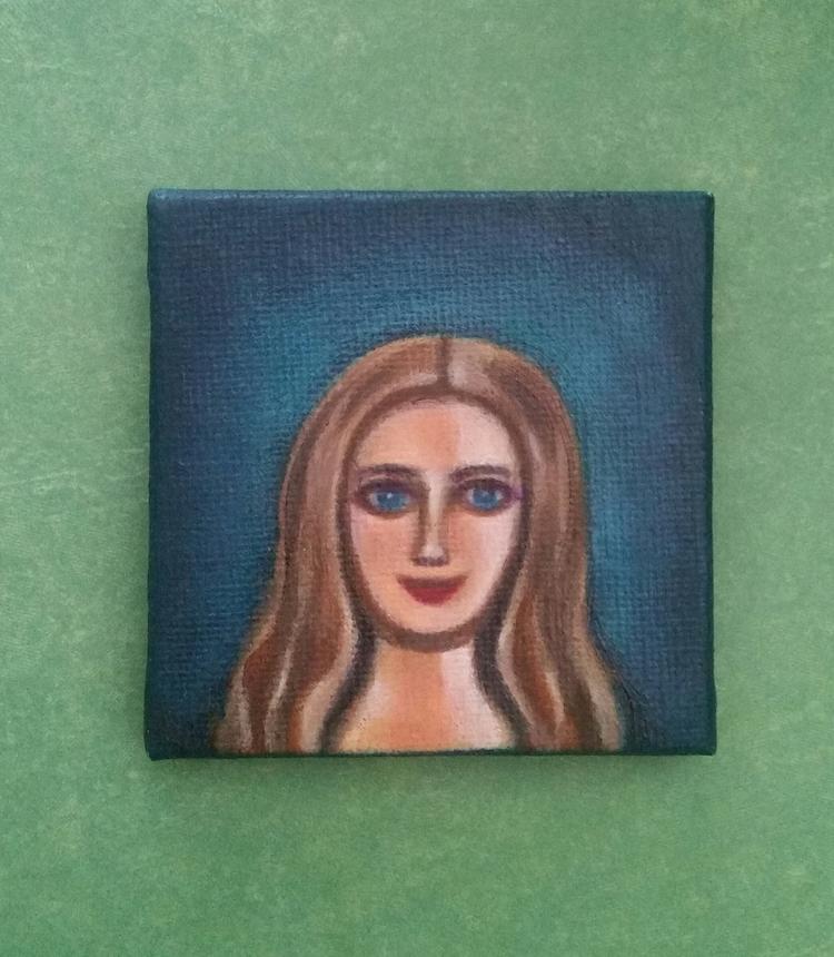 Small oil painting Americana - addiction#espresso#awake#culture#everyday - nora_ | ello