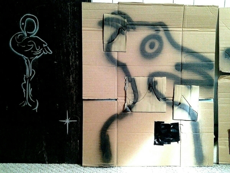 piece - spray paint - anthonycandkarenm | ello