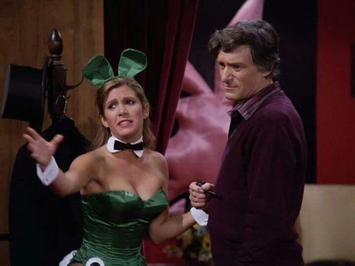 Carrie Fisher Hugh Hefner fun a - bonniegrrl | ello
