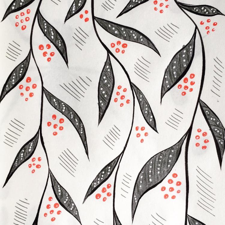 ink sketches. love color combo - borianag | ello