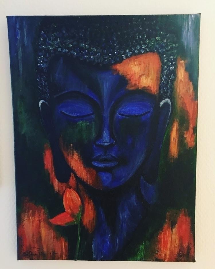 byme, art, buddha, artist, martinepoulsen - martine_poulsen | ello