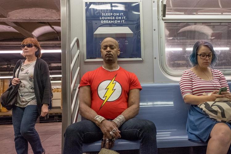 Subway Superhero Train, NYC - giseleduprez | ello