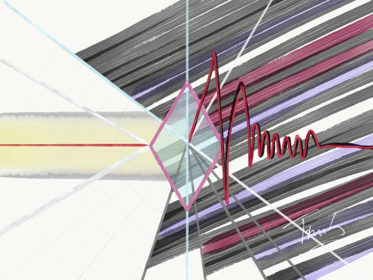 Prisma - abstractart, abstractartist - tomasgauthier | ello