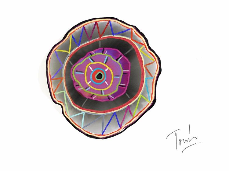 Consciousness - abstractart, abstractartist - tomasgauthier | ello