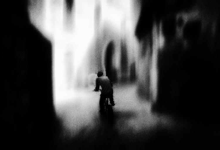 man bicycle. Submitted [@ Studi - elhanans | ello