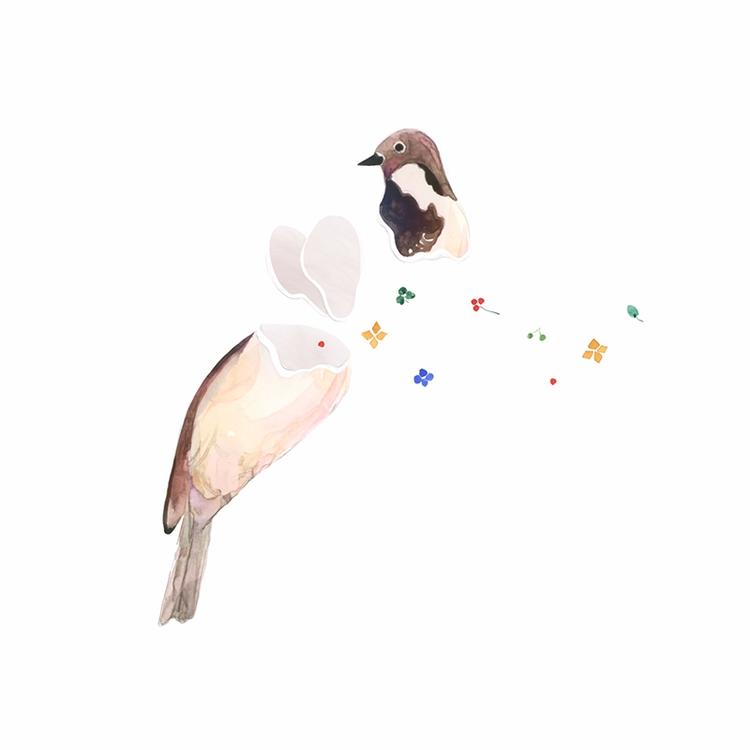 Songbird jennyRonen - illustration - jennyronen | ello