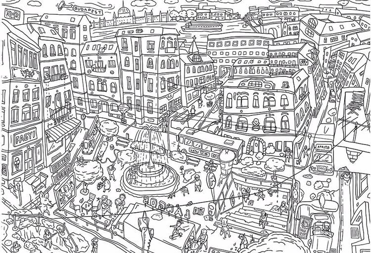 Budapest - illustration, comics - zsoltvidak | ello
