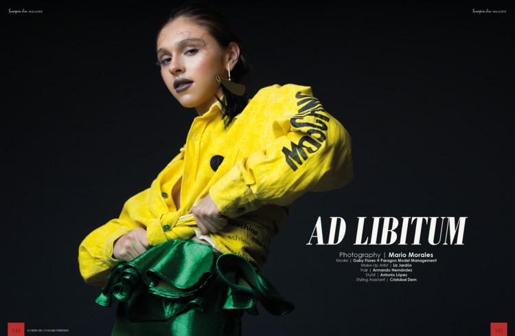 Fashion Editorial AD LIBITUM Mo - mario_morales | ello