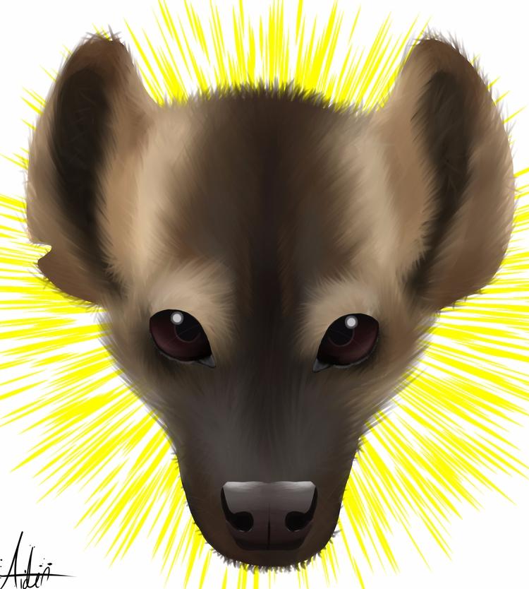 Hyena painting - aiden_sonebi | ello