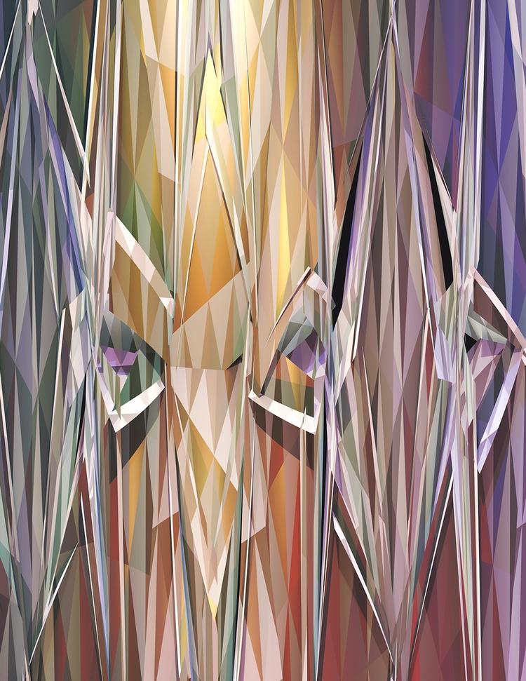Strangers Digital Art - art, abstract - sphericalart   ello