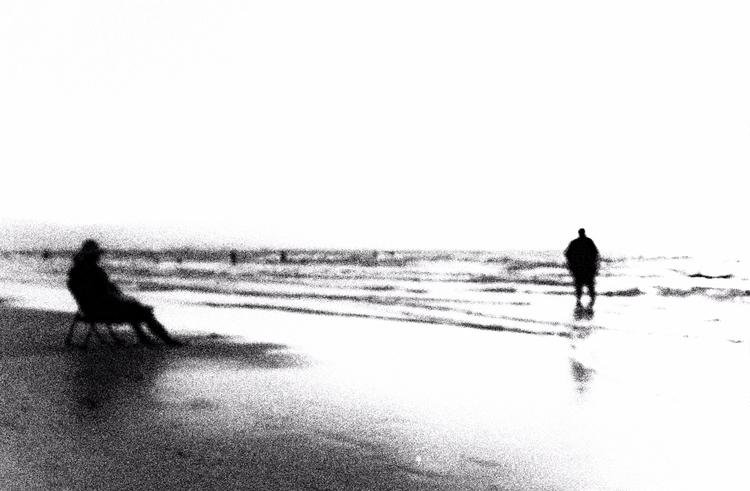 Echoes - photography, bw, mood - elhanans | ello