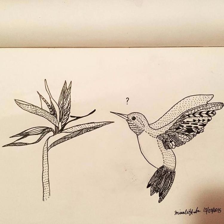 illustration, bird, free, art - mimisdrawingbook | ello