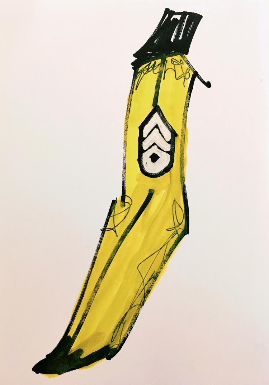 Sergeant Banana, 2017 - contemporary - jkalamarz | ello