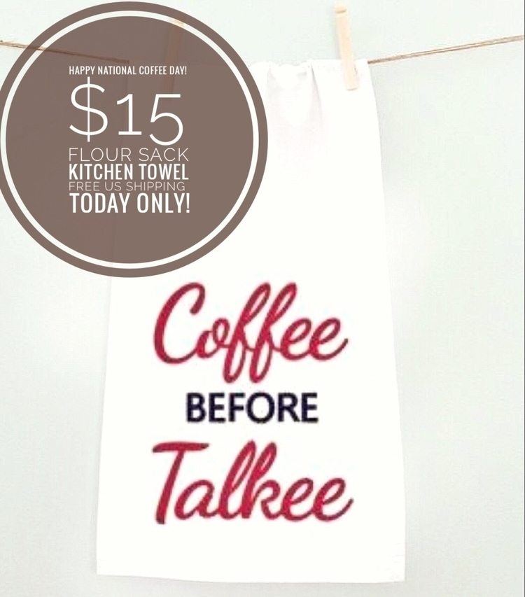Happy Coffee day! Today $15, sh - zabesquilts | ello
