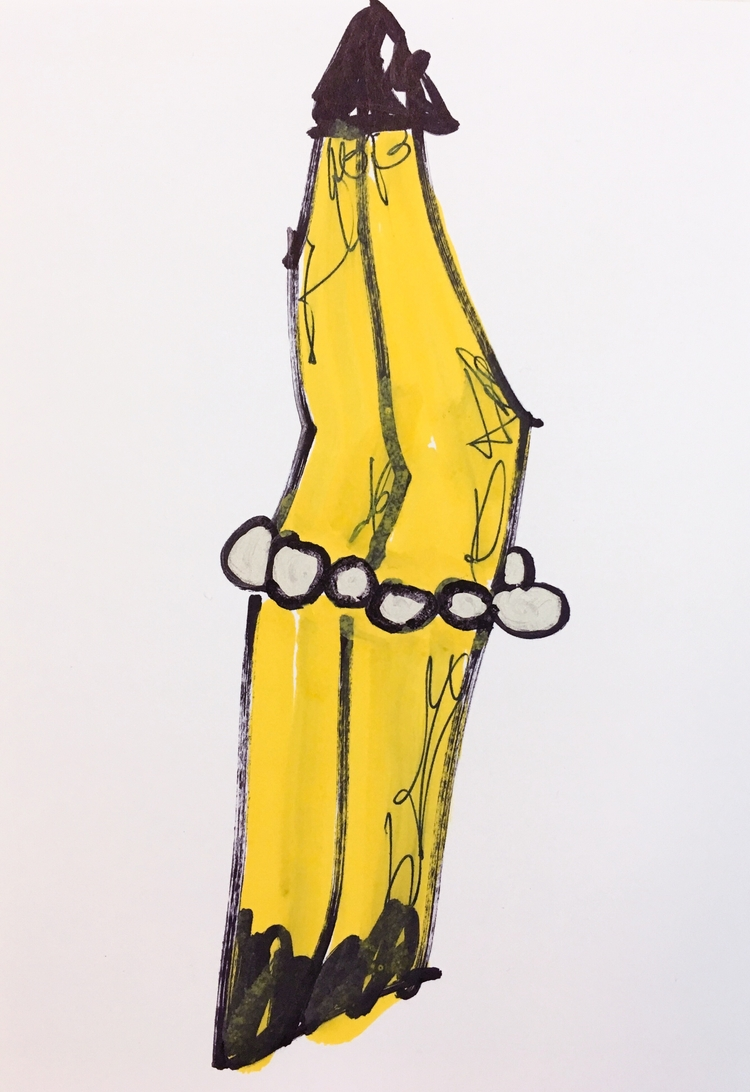 Banana Costume Pearls, 2017 - contemporary - jkalamarz   ello