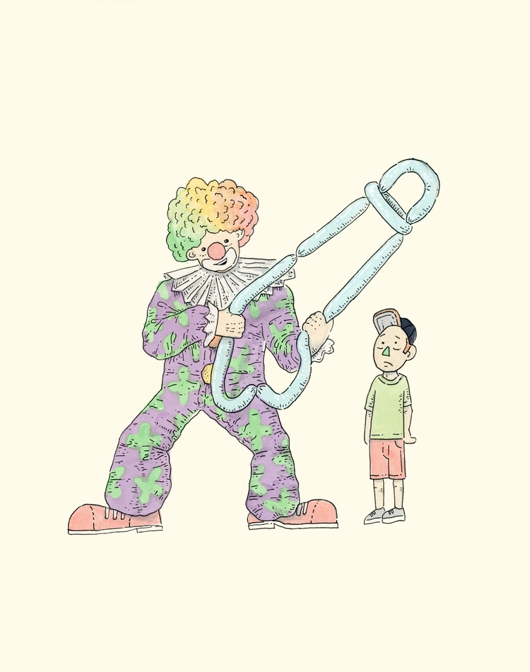 Misplaced Trust - illustration, drawing - mlodik | ello