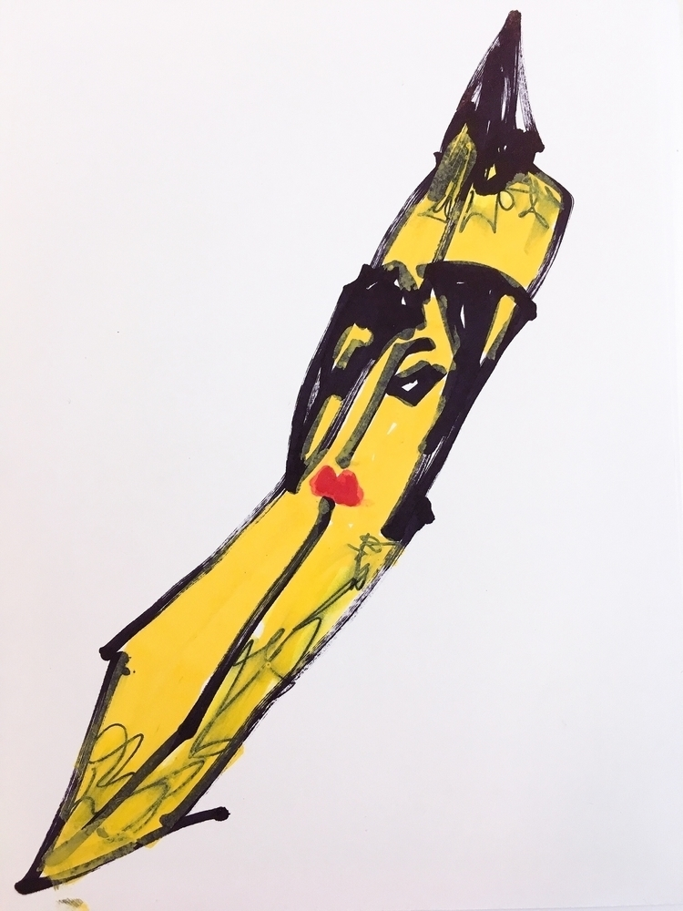 Vision Noel Fielding Banana, 20 - jkalamarz | ello