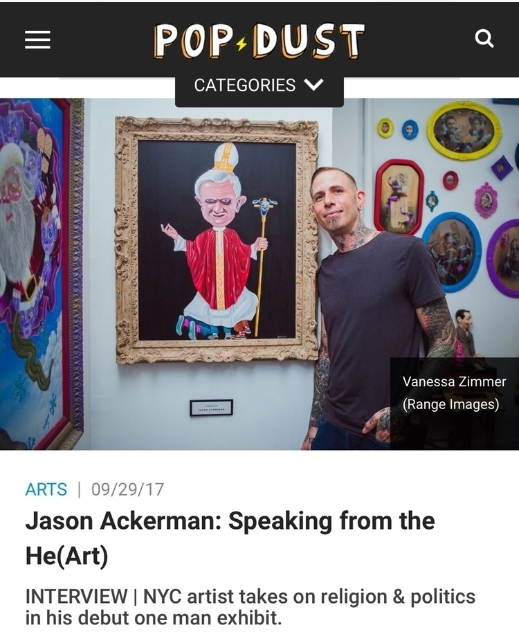 excited popdust article opening - jasonackerman | ello